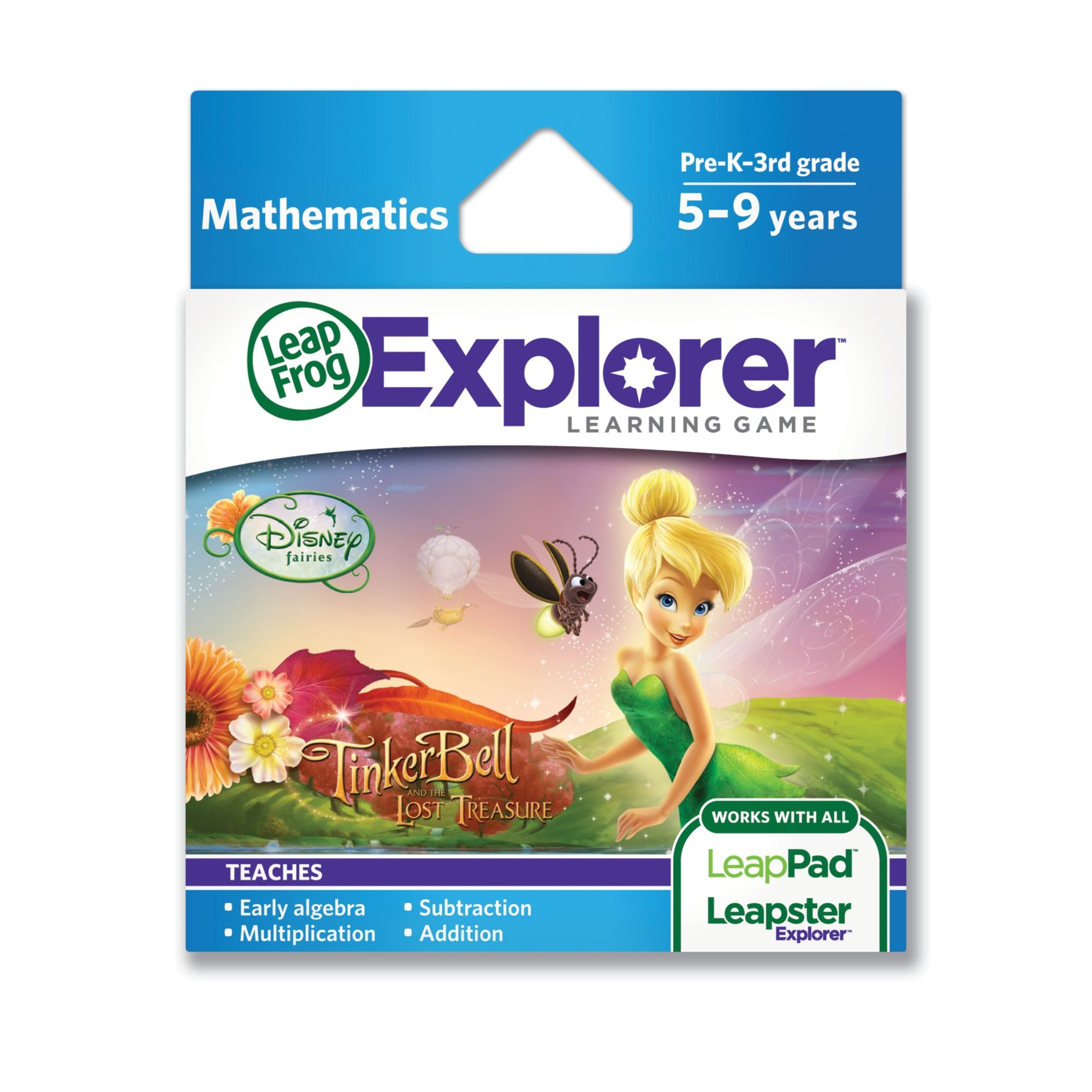 LeapFrog Explorer Learning Game: Disney Fairies: Tinker Bell and the Lost Treasure (works with LeapPad & Leapster Explorer) by LeapFrog