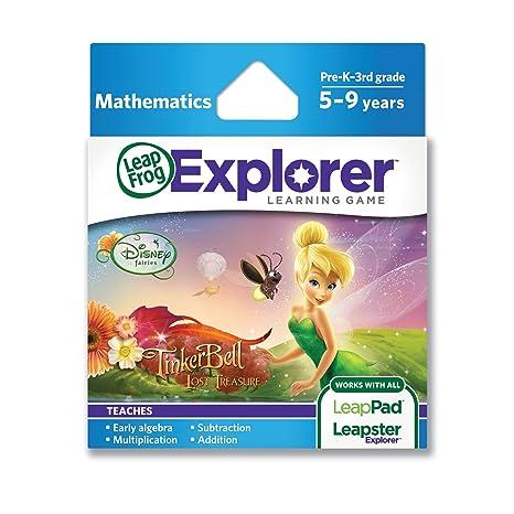 Amazoncom Leapfrog Explorer Learning Game Disney Fairies Tinker