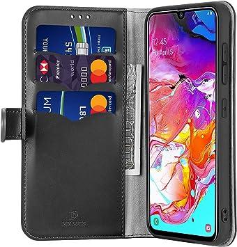 Bubunix - Funda con Tapa para Samsung Galaxy A70 (2019), Piel ...