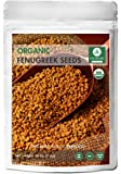 Whole Organic Fenugreek Seeds, 1 pound - 100% Pure & Natural - USDA Organic Certified
