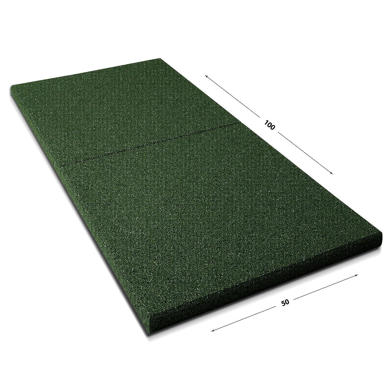 Fallschutz made in Germany einzeln oder im 2er Set schwarz Fallschutzmatten Play Protect Plus extragro/ß 1 St/ück: 100 x 50 cm