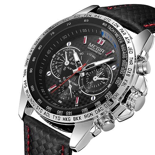 1fbb6fd88c97 Megir - Reloj de Pulsera para Hombre