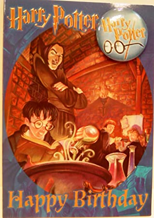 Amazon.com: Harry Potter Snape s clase de pociones tarjeta ...
