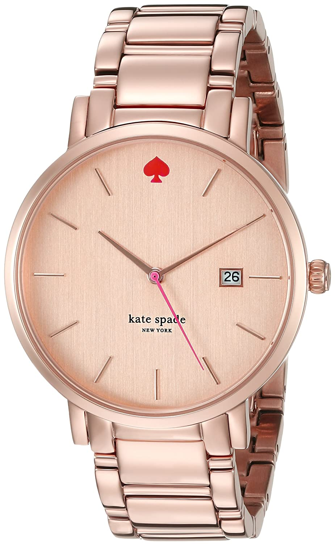 7b5eb5f56 Kate Spade New York Women's 1YRU0641 Gramercy Grand Rose Gold-Tone Bracelet  Watch: Kate Spade: Amazon.ca: Watches