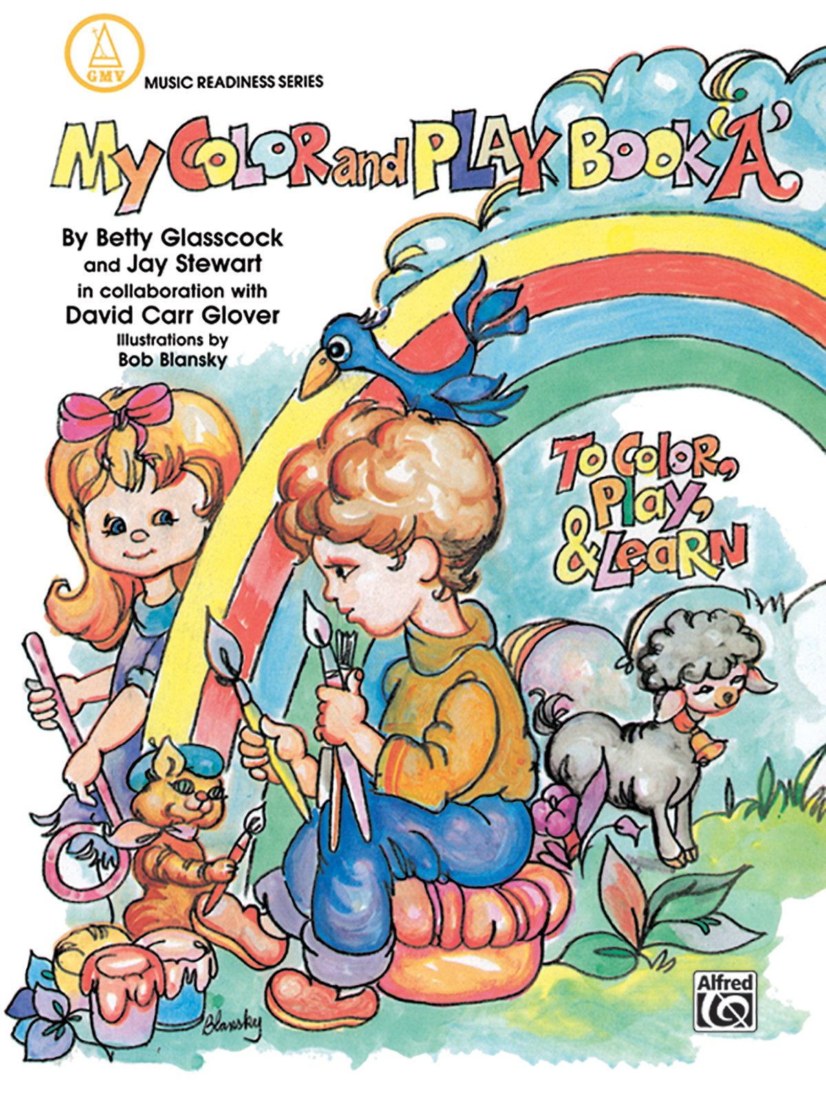 My Color and Play Book, Bk A: To Color, Play & Learn (Music Readiness Series)