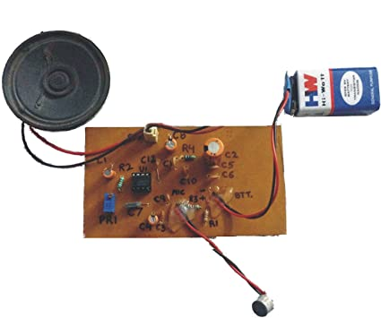 Buy Acme Microphone Amplifier Circuit - DIY Kit for Electronic ...
