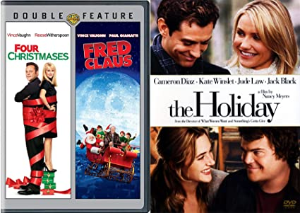 the holiday fred clause four christmases vince vaughn christmas 3 pack holiday triple feature - Vince Vaughn Christmas Movie