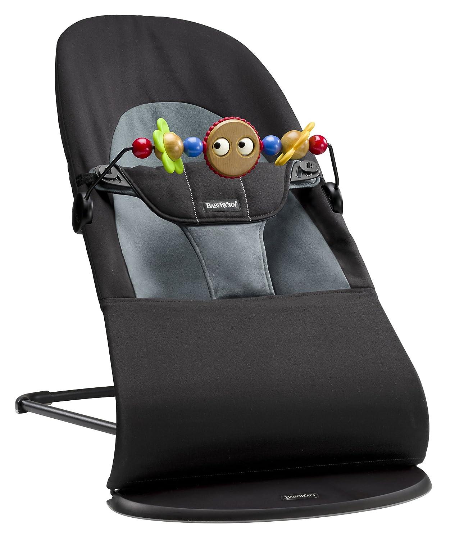 BabyBjorn 005083us Bouncer Balance Soft Cotton Jersey, Beige/Gray BabyBjörn
