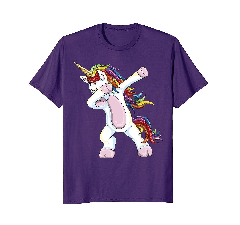 Dabbing Unicorn Shirt – Funny Unicorn Dab Tshirt Gift-fa