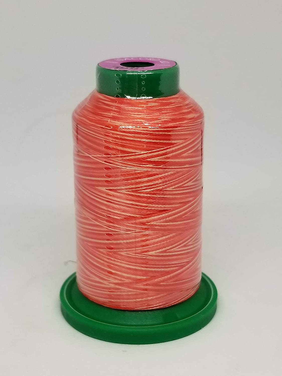Isacord Embroidery Thread Variegated 9864 Holly Berry