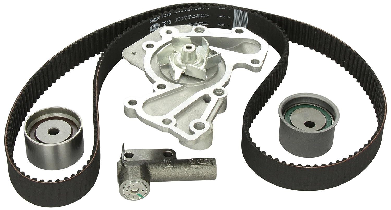 Timing Belt Kit >> Gates Tckwp315 Engine Timing Belt Kit With Water Pump