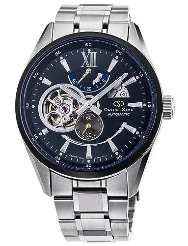 Orient Star moderno esqueleto reloj mecánico rk-dk0003b hombre: Amazon.es: Relojes