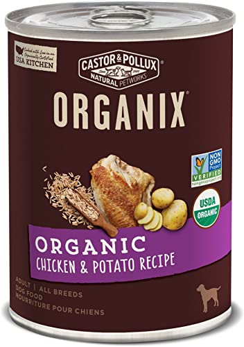 Castor Pollux Organix Organic Canned Dog Food