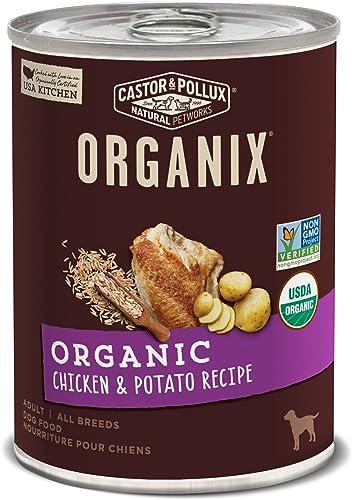 Castor Pollux Organix Organic Canned Dog Food, 12 count 12.7 oz