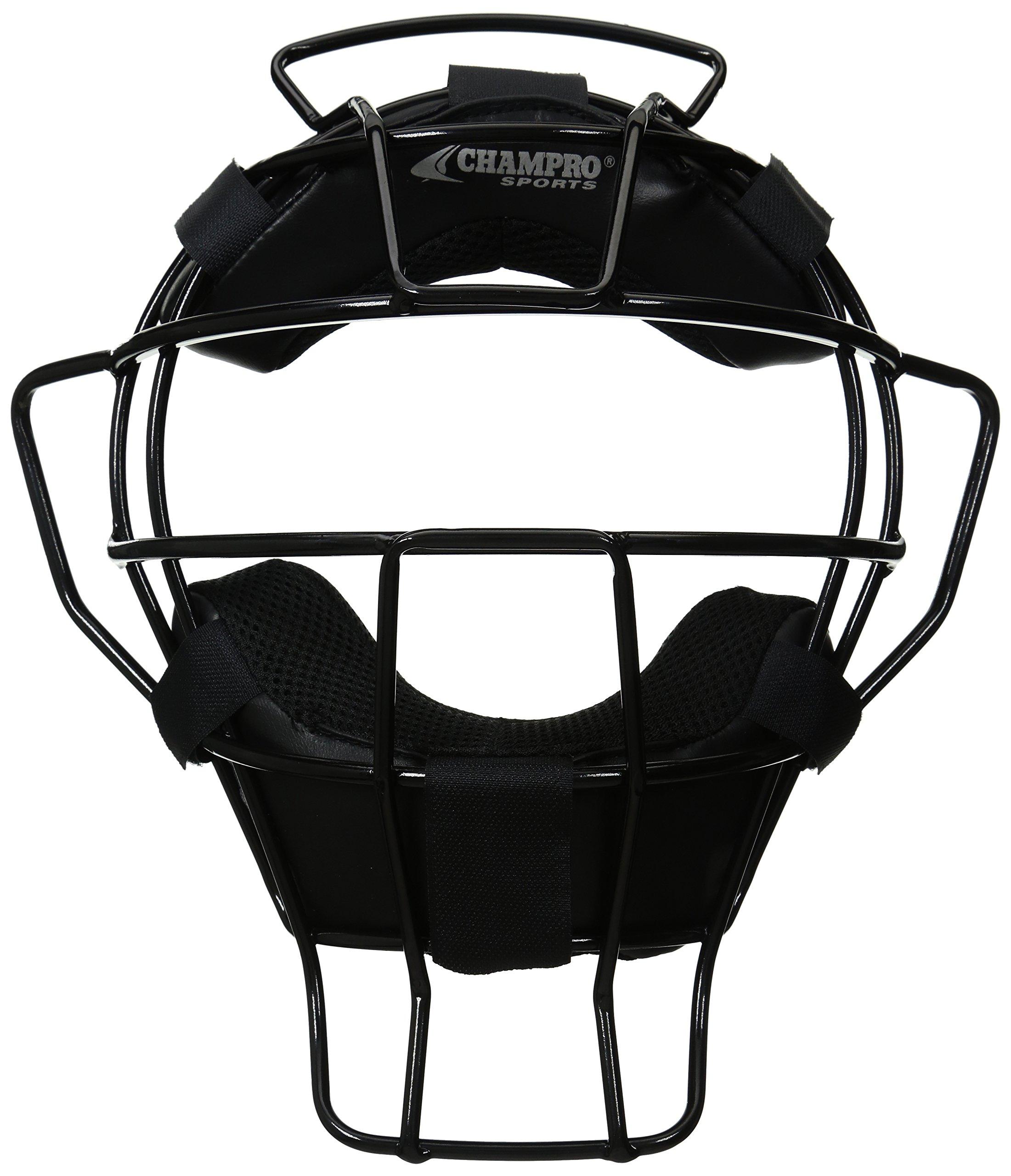 CHAMPRO Ump Mask DRI Gear Pads (Black, 18-Ounce) by CHAMPRO