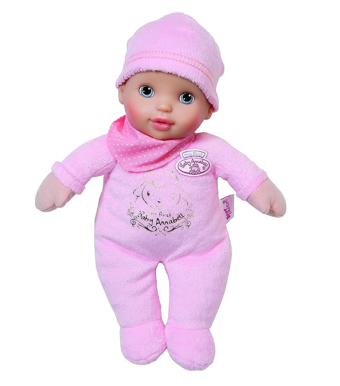 Amazon.es: mi Primer Annabell bebé para recién Nacido (Lila o Rosa ...