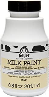 product image for FolkArt Milk Paint in Assorted Colors (6.8 oz), 38909 Churned Butter