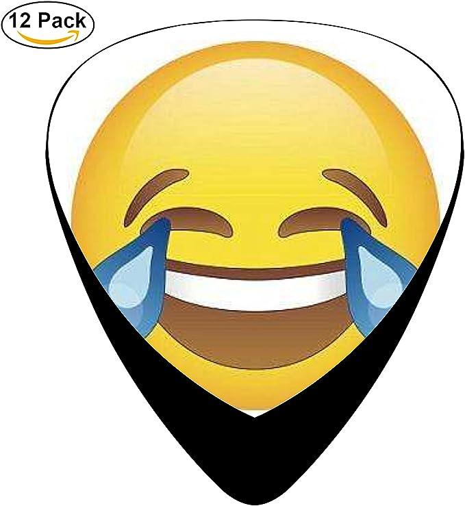 damuiu Emoji – Juego de 12 púas de guitarra juego de música ...