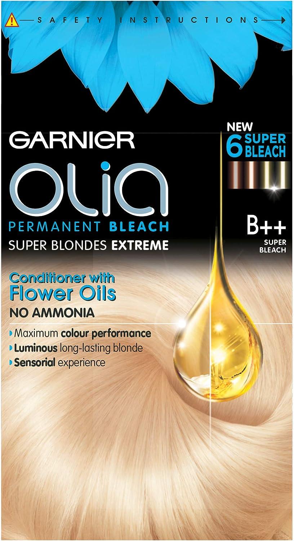 Garnier Olia B + + SUPER lejía Rubio, pack de 3