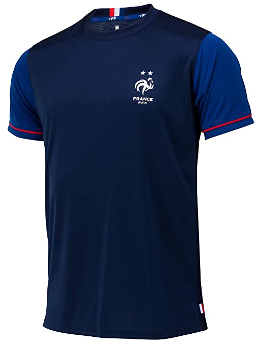 Equipe De France De Football Maillot Fff 2 étoiles Collection Officielle Taille Homme