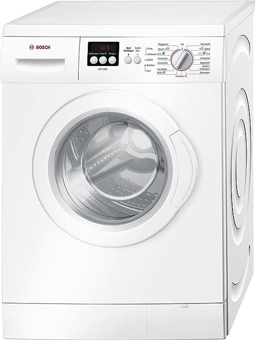Bosch Serie 4 WAE28220 Independiente Carga frontal 7kg 1391RPM A+++ Blanco - Lavadora (Independiente, Carga frontal, Blanco, Izquierda, LED, 180°): Amazon.es: Grandes electrodomésticos