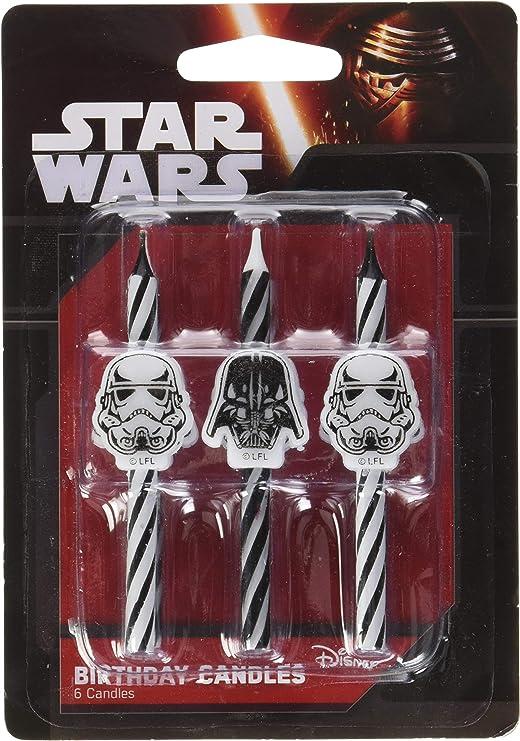 Star Wars Icon Birthday Cake Candles - 6 pc