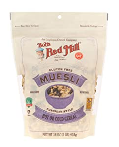 Bob's Red Mill Gluten Free Muesli Cereal, 16-ounce