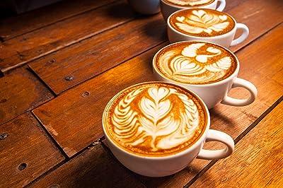 Latte Art Milchschaumkreationen