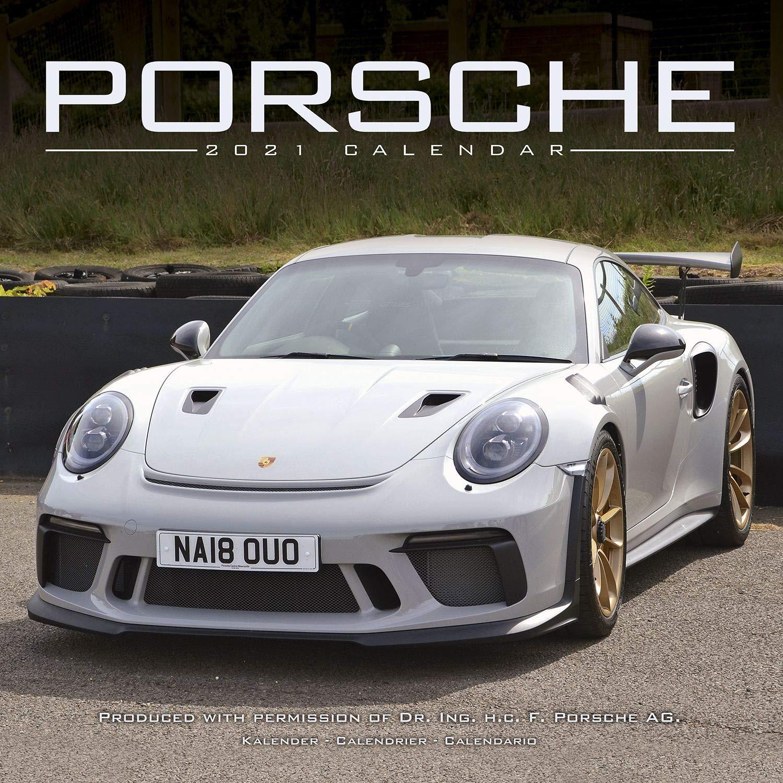 Porsche Calendar 2021 Porsche Calendar  Calendars 2020   2021 Wall Calendars   Car