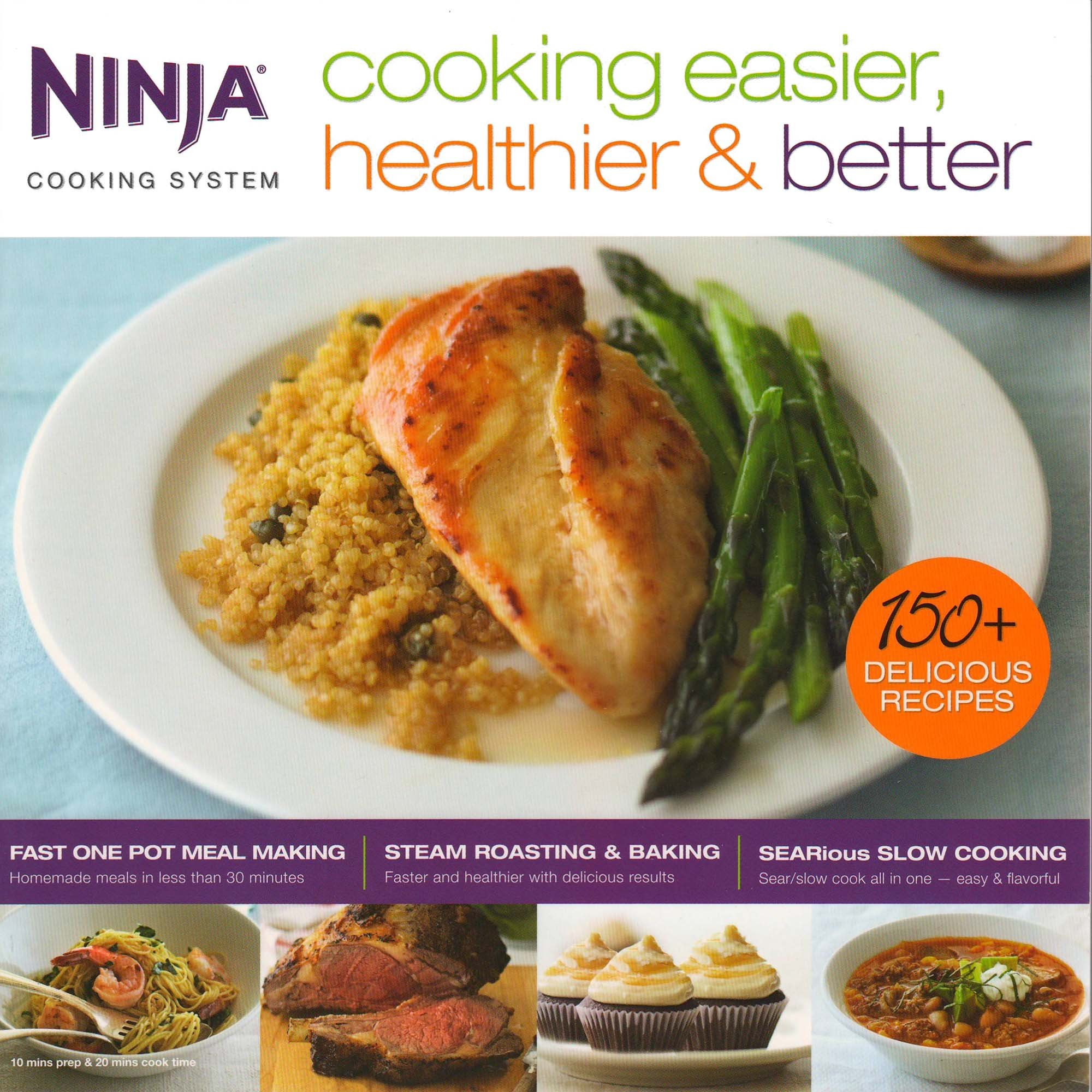 Ninja 6 Quart 3-In-1 Slow Cooker with Recipe Book (Certified Refurbished) by SharkNinja (Image #9)