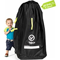 VolkGo Durable Stroller Bag for Airplane - Standard or Double Dual Stroller  Gate Check Bag d3c559e9375b1