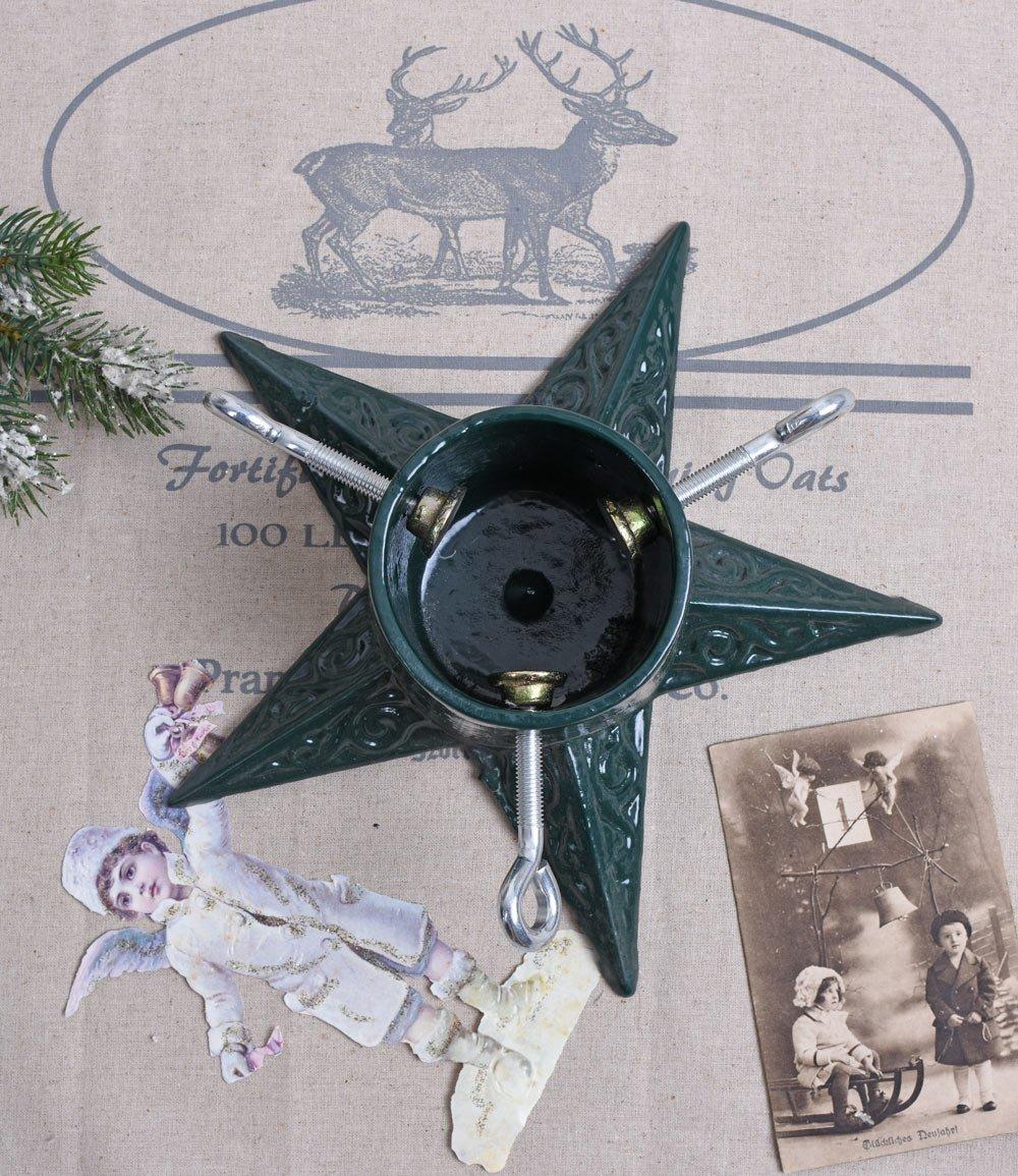 Weihnachtsbaumst/änder Gusseisen Christbaumst/änder Stern Landhausstil Palazzo Exklusiv