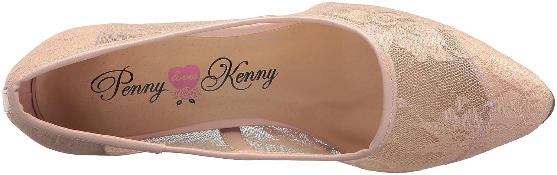 Penny Loves Kenny Women's Union Fl Pump B076FDWDWB 8 W US|Blush Lace
