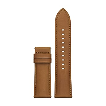 Image result for Michael Kors Access Grayson Brown Leather Strap