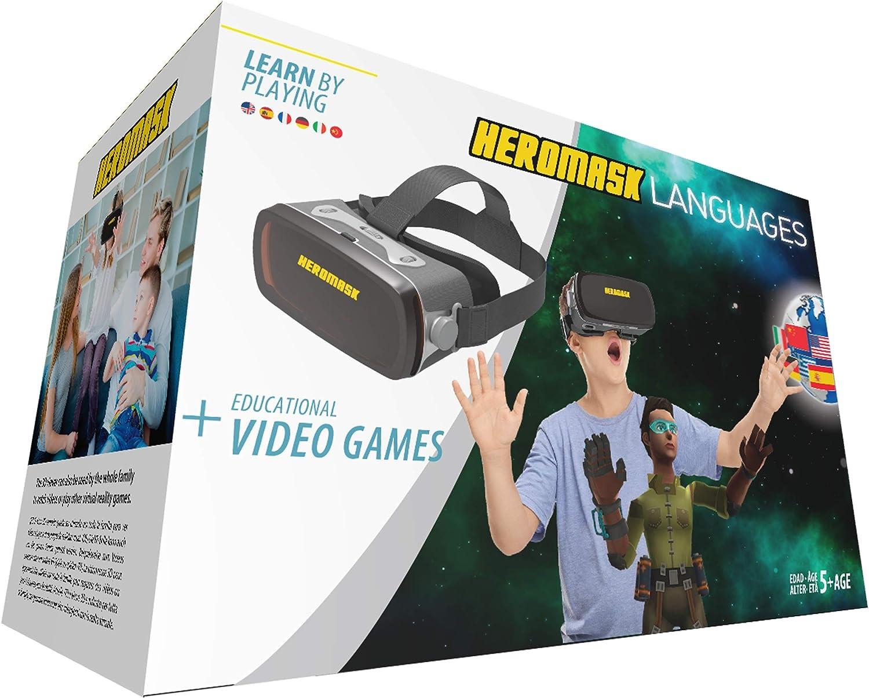Gafas Realidad Virtual Niños + Juego Educativo Idiomas [ Regalo ...