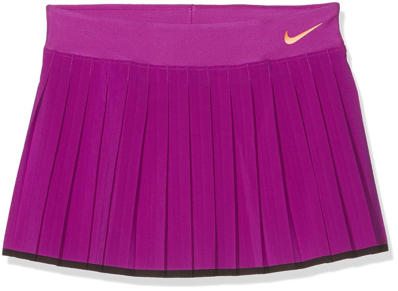 Nike Victory Skirt YTH Falda De Tenis, niñ as, Morado (Vivid Purple/Black/Tart), L niñas 724714-584_L