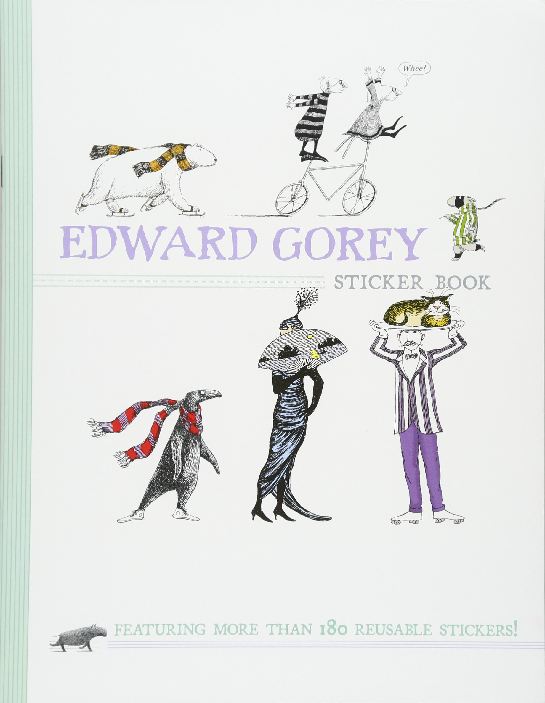 Edward Gorey Sticker Book product image