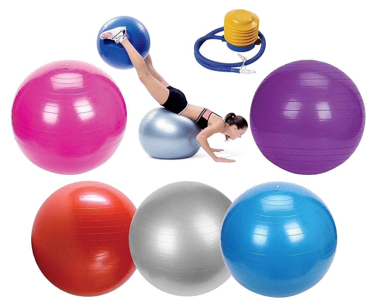 Haga Clic para Abrir Vista ampliada Ejercicio Gimnasio Yoga Pelota de Gimnasia Fitness Embarazo Parto Anti Burst Bolas