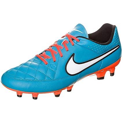 Amazon.com  Nike Tiempo Genio Leather FG (Turq Crimson) (6.5)  Shoes 6d01f574579