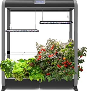 AeroGarden Farm 24XL, w/Salad Bar Seed Kit, Black