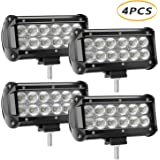 LED Light Bar 4 X 36w 3600 Lumens