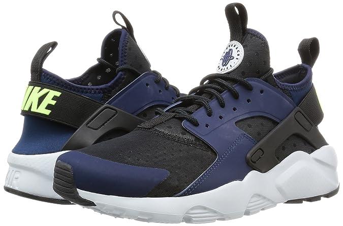 timeless design 4021d dd616 Nike Men s Air Huarache Run Ultra, Midnight Navy Ghost Green-Black-Pure  Platinum, 11 M US  Amazon.ca  Shoes   Handbags