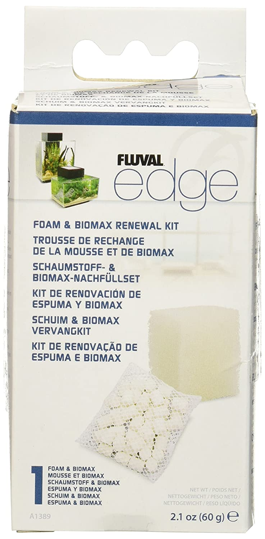 Hagen Fluval Edge Foam Pad and BioMax Renewal Kit, 3PACK