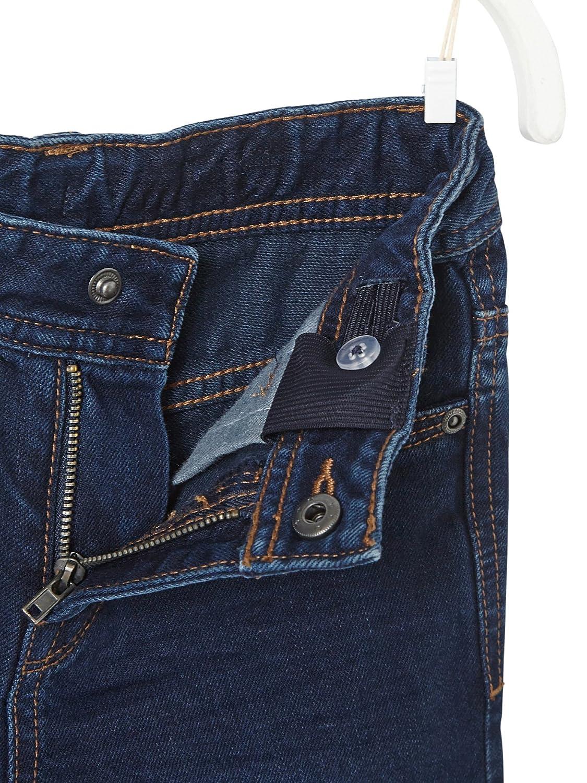 Vertbaudet Medium Fit - Boys' Straight Cut Trousers Blue Dark Solid 4/5Y ( 108CM): Amazon.co.uk: Clothing