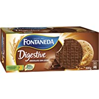 Fontaneda Digestive Galletas Cubiertas de Chocolate con Leche