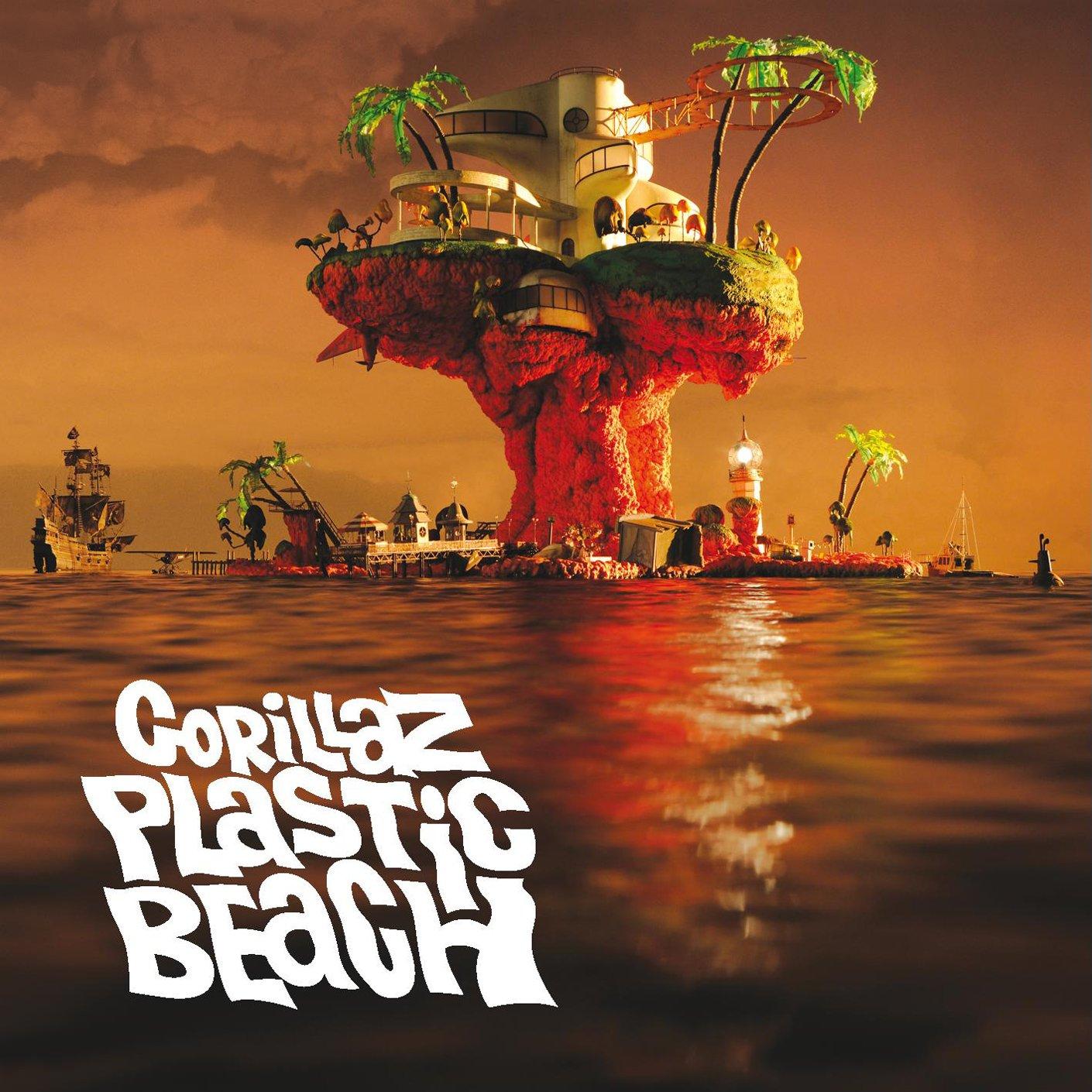 Resultado de imagen para gorillaz plastic beach