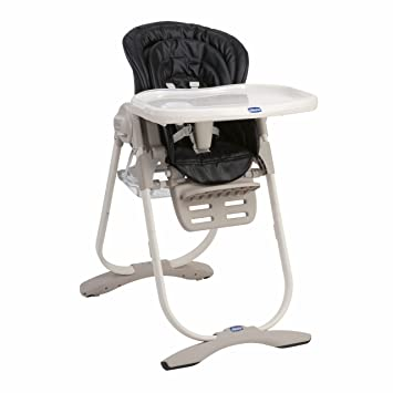 Chicco Polly Magic Highchair Lowchair Black Amazon Co Uk Baby