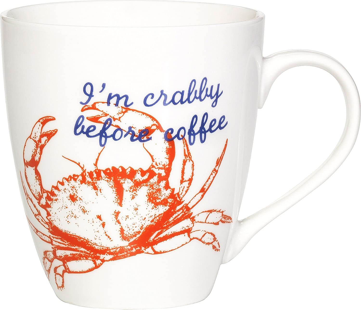 Amazon Pfaltzgraff I m Crabby Before Coffee Mug e Size