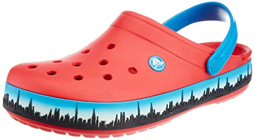 58b3df891d49 crocs Unisex Crocband Tokyo Skyline Red Clogs and Mules - M9W11  Buy Online  at Low Prices in India - Amazon.in