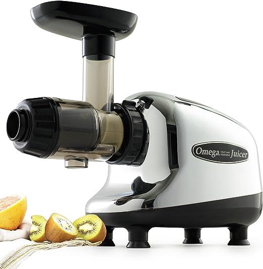 Omega J8005 centro de nutrición single-gear hogar Masticating ...